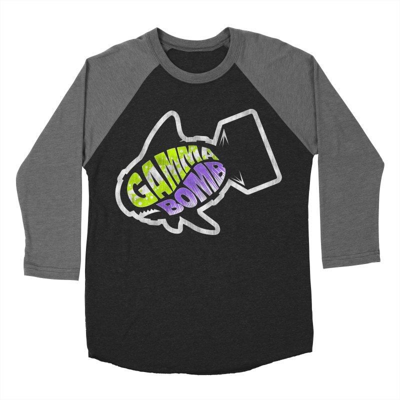 Gamma Bomb Logo Women's Baseball Triblend Longsleeve T-Shirt by Gamma Bomb - A Celebration of Imagination