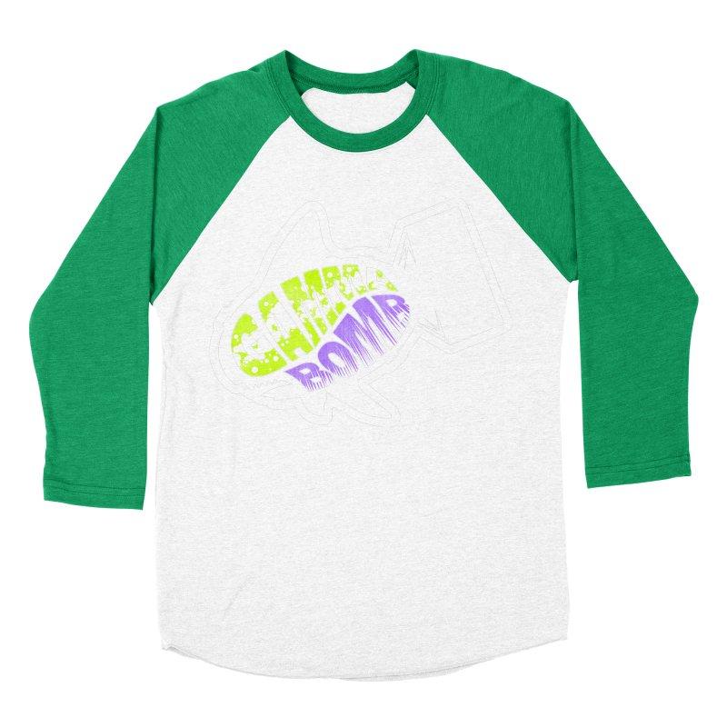 Gamma Bomb Logo Men's Baseball Triblend Longsleeve T-Shirt by Gamma Bomb - A Celebration of Imagination