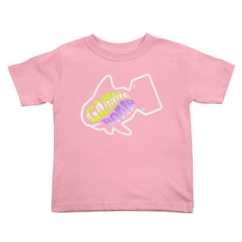 Gamma Bomb Logo Kids Toddler T-Shirt by Gamma Bomb - A Celebration of Imagination