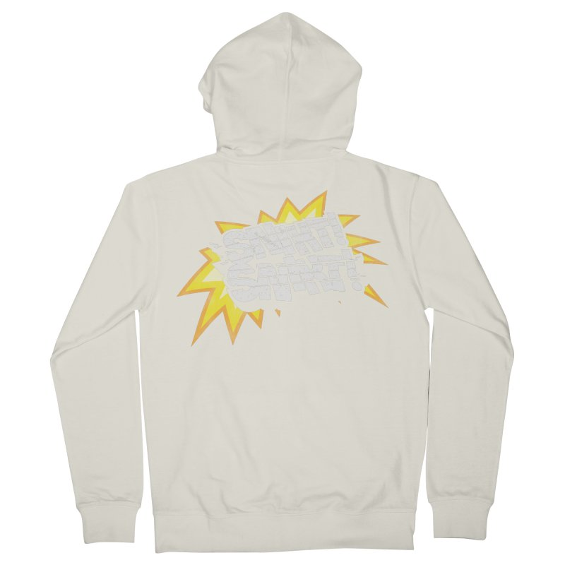 Best There Is Men's French Terry Zip-Up Hoody by Gamma Bomb - Explosively Mutating Your Look