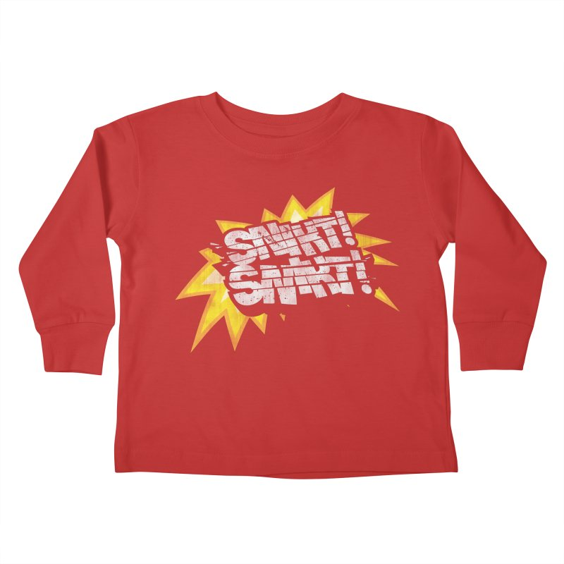 Best There Is Kids Toddler Longsleeve T-Shirt by Gamma Bomb - Explosively Mutating Your Look
