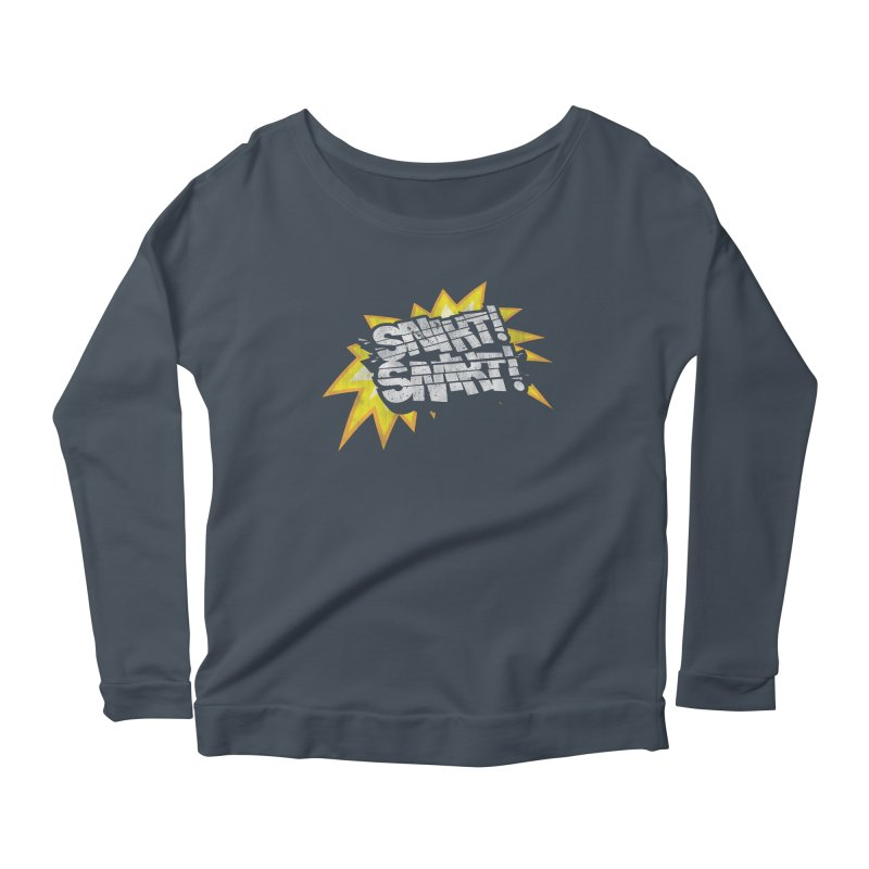 Best There Is Women's Scoop Neck Longsleeve T-Shirt by Gamma Bomb - A Celebration of Imagination