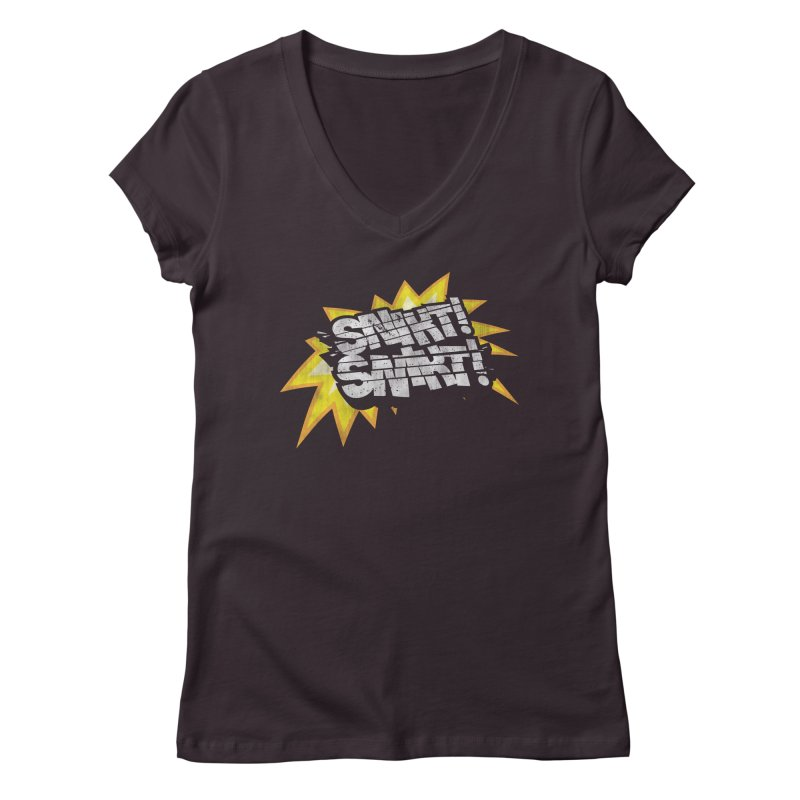 Best There Is Women's Regular V-Neck by Gamma Bomb - A Celebration of Imagination