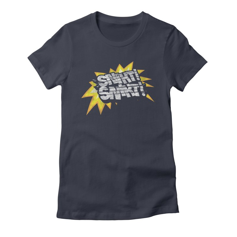 Best There Is Women's Fitted T-Shirt by Gamma Bomb - Explosively Mutating Your Look