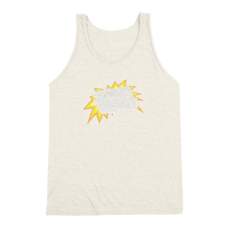 Best There Is Men's Triblend Tank by Gamma Bomb - A Celebration of Imagination