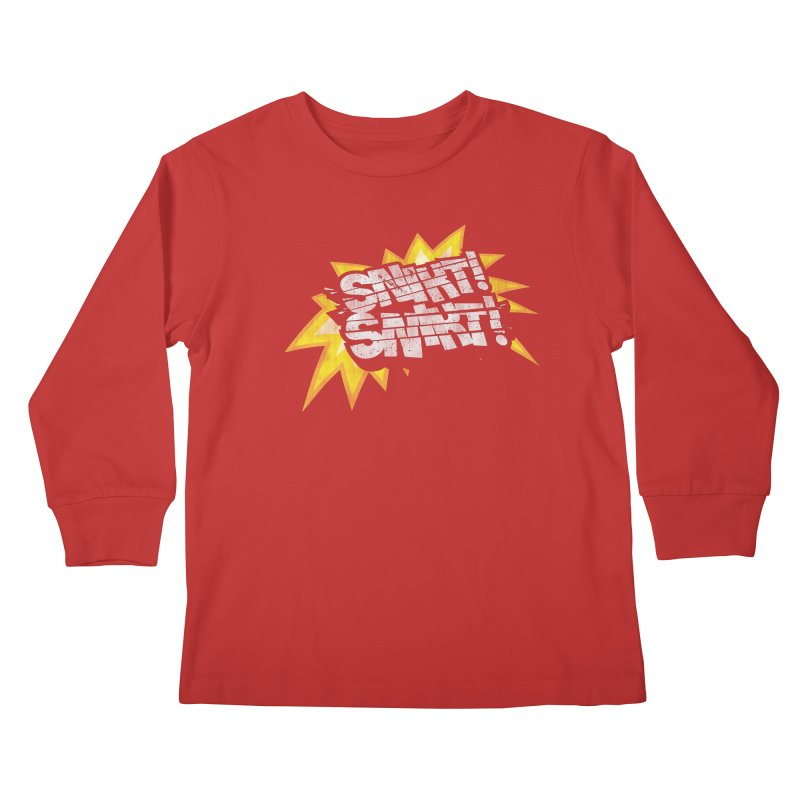 Best There Is Kids Longsleeve T-Shirt by Gamma Bomb - Explosively Mutating Your Look