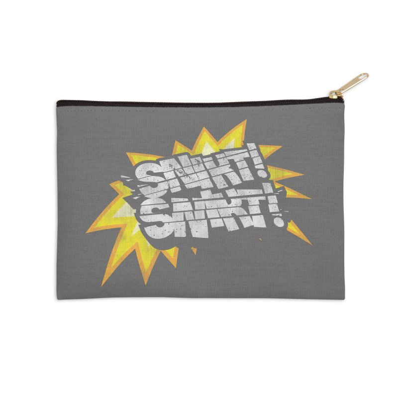 Best There Is Accessories Zip Pouch by Gamma Bomb - Explosively Mutating Your Look