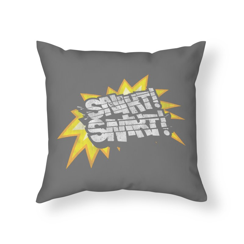 Best There Is Home Throw Pillow by Gamma Bomb - A Celebration of Imagination