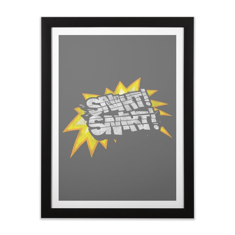 Best There Is Home Framed Fine Art Print by Gamma Bomb - Explosively Mutating Your Look