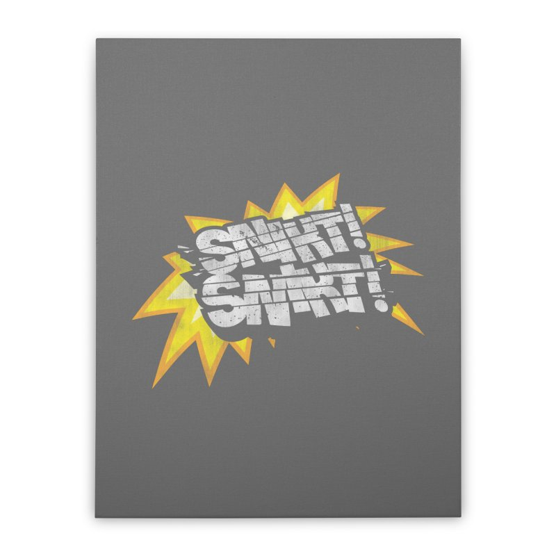Best There Is Home Stretched Canvas by Gamma Bomb - Explosively Mutating Your Look