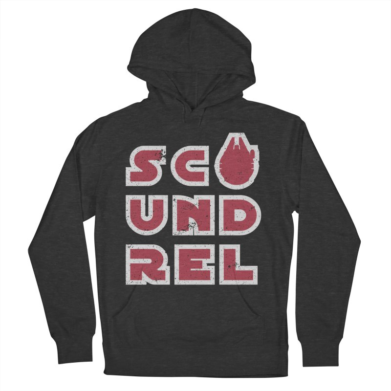 Scoundrel - Red Flavor Women's French Terry Pullover Hoody by Gamma Bomb - A Celebration of Imagination