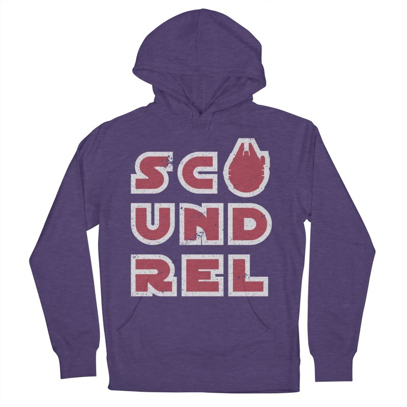 Scoundrel - Red Flavor Men's French Terry Pullover Hoody by Gamma Bomb - Explosively Mutating Your Look