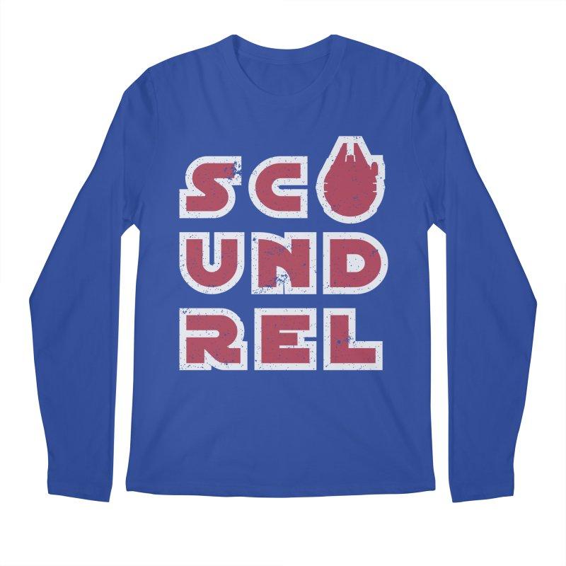 Scoundrel - Red Flavor Men's Regular Longsleeve T-Shirt by Gamma Bomb - Explosively Mutating Your Look