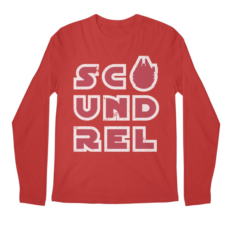 Scoundrel - Red Flavor Men's Regular Longsleeve T-Shirt by Gamma Bomb - A Celebration of Imagination