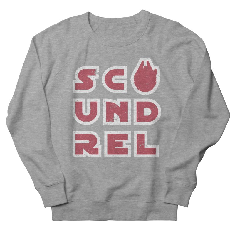 Scoundrel - Red Flavor Women's French Terry Sweatshirt by Gamma Bomb - Explosively Mutating Your Look