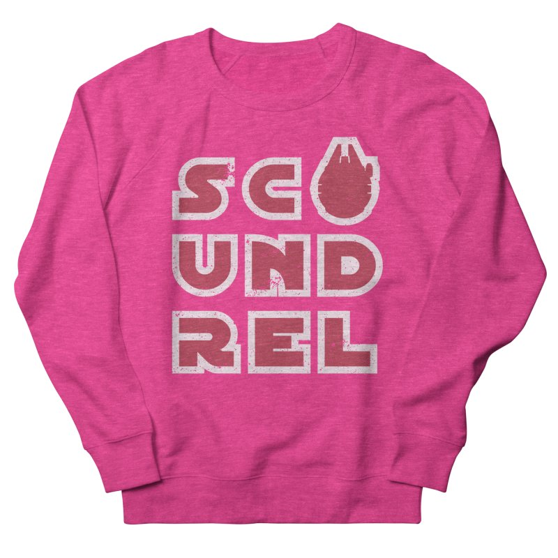 Scoundrel - Red Flavor Women's French Terry Sweatshirt by Gamma Bomb - A Celebration of Imagination