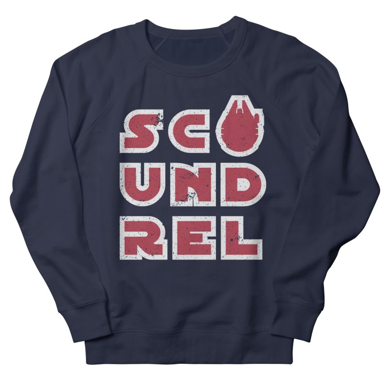 Scoundrel - Red Flavor Men's French Terry Sweatshirt by Gamma Bomb - A Celebration of Imagination