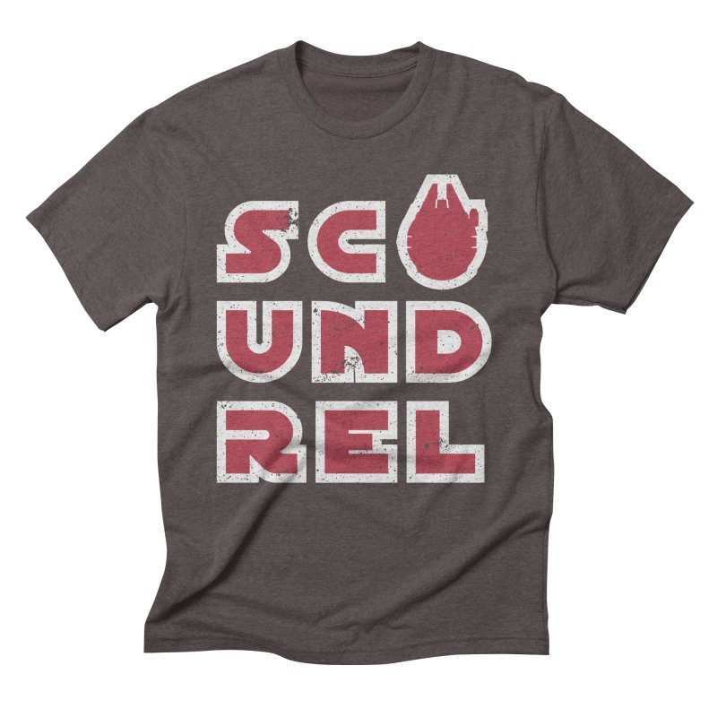 Scoundrel - Red Flavor Men's Triblend T-Shirt by Gamma Bomb - A Celebration of Imagination