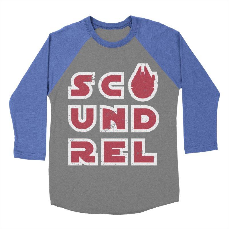 Scoundrel - Red Flavor Women's Baseball Triblend Longsleeve T-Shirt by Gamma Bomb - A Celebration of Imagination