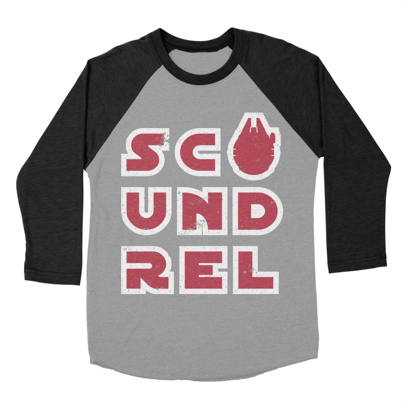 Scoundrel - Red Flavor Women's Baseball Triblend Longsleeve T-Shirt by Gamma Bomb - Explosively Mutating Your Look