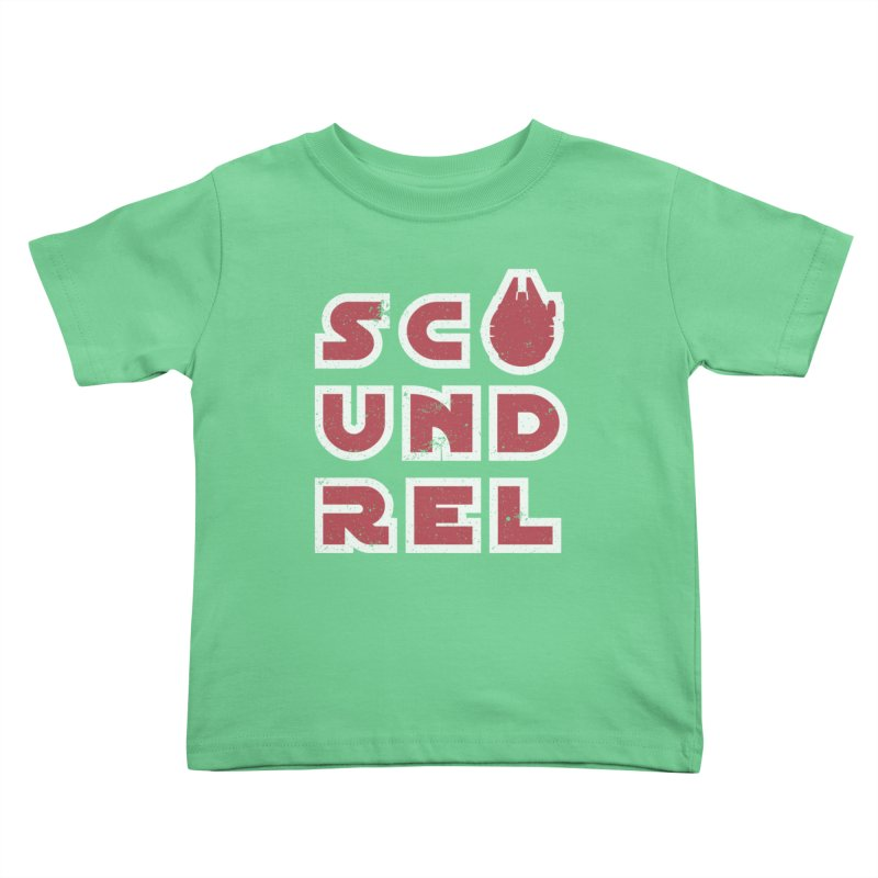 Scoundrel - Red Flavor Kids Toddler T-Shirt by Gamma Bomb - Explosively Mutating Your Look