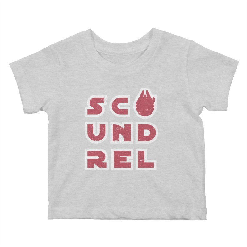 Scoundrel - Red Flavor Kids Baby T-Shirt by Gamma Bomb - A Celebration of Imagination