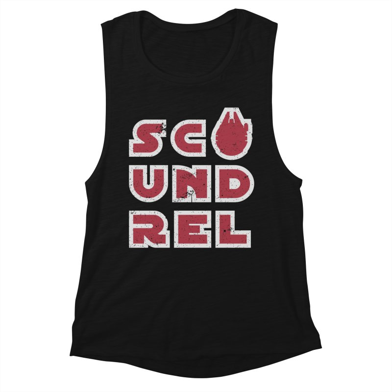 Scoundrel - Red Flavor Women's Tank by Gamma Bomb - Explosively Mutating Your Look