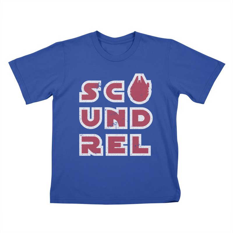 Scoundrel - Red Flavor Kids T-Shirt by Gamma Bomb - Explosively Mutating Your Look