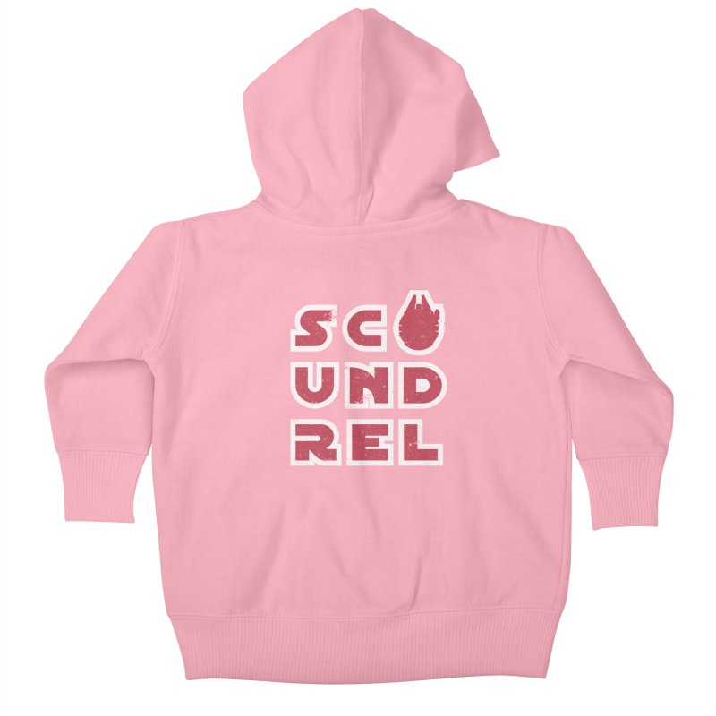 Scoundrel - Red Flavor Kids Baby Zip-Up Hoody by Gamma Bomb - A Celebration of Imagination
