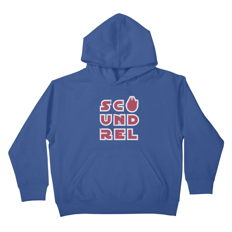 Scoundrel - Red Flavor Kids Pullover Hoody by Gamma Bomb - A Celebration of Imagination