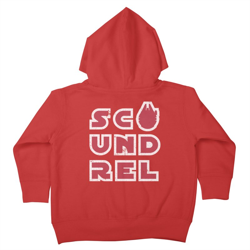 Scoundrel - Red Flavor Kids Toddler Zip-Up Hoody by Gamma Bomb - Explosively Mutating Your Look
