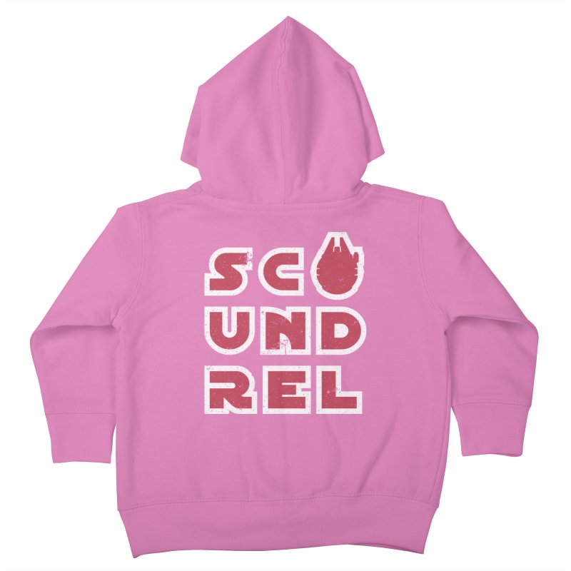 Scoundrel - Red Flavor Kids Toddler Zip-Up Hoody by Gamma Bomb - A Celebration of Imagination