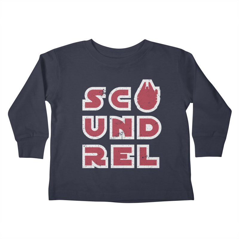 Scoundrel - Red Flavor Kids Toddler Longsleeve T-Shirt by Gamma Bomb - Explosively Mutating Your Look