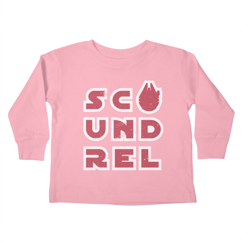 Scoundrel - Red Flavor Kids Toddler Longsleeve T-Shirt by Gamma Bomb - A Celebration of Imagination