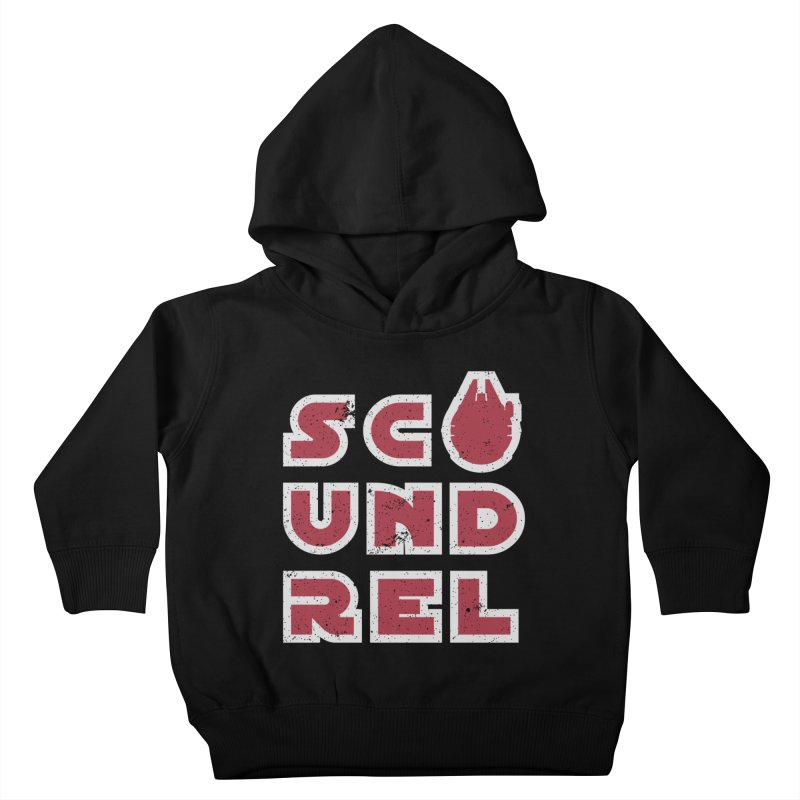 Scoundrel - Red Flavor Kids Toddler Pullover Hoody by Gamma Bomb - A Celebration of Imagination
