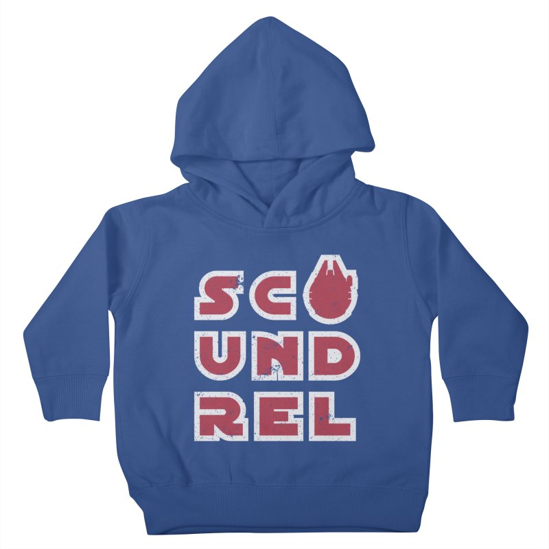 Scoundrel - Red Flavor Kids Toddler Pullover Hoody by Gamma Bomb - Explosively Mutating Your Look