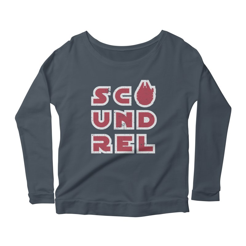 Scoundrel - Red Flavor Women's Scoop Neck Longsleeve T-Shirt by Gamma Bomb - A Celebration of Imagination