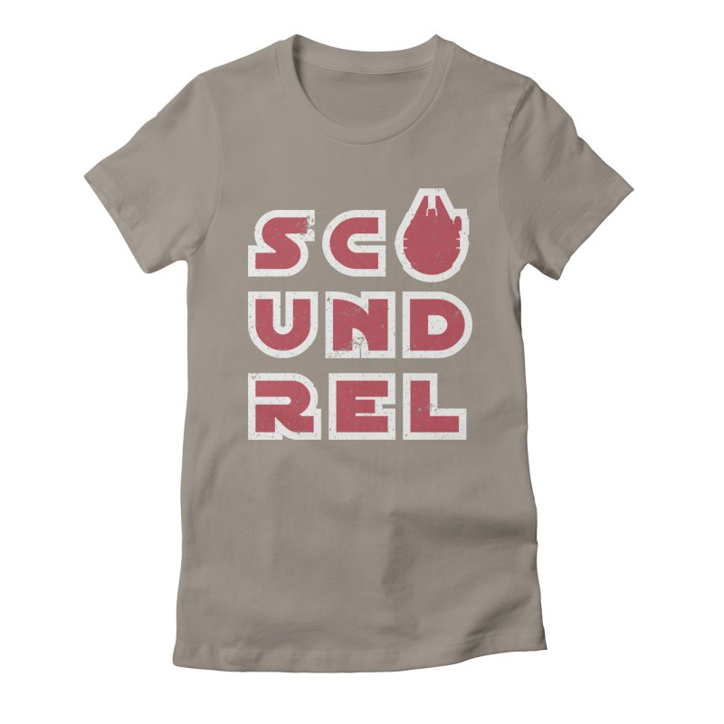 Scoundrel - Red Flavor Women's Fitted T-Shirt by Gamma Bomb - Explosively Mutating Your Look