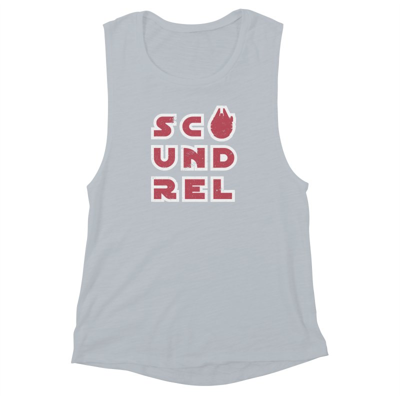 Scoundrel - Red Flavor Women's Muscle Tank by Gamma Bomb - A Celebration of Imagination