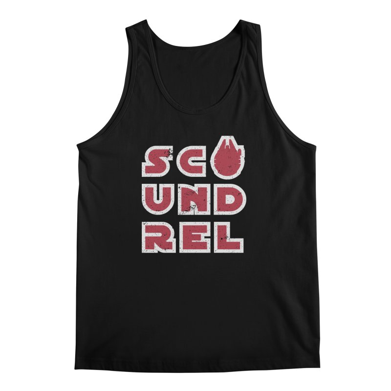 Scoundrel - Red Flavor Men's Regular Tank by Gamma Bomb - Explosively Mutating Your Look