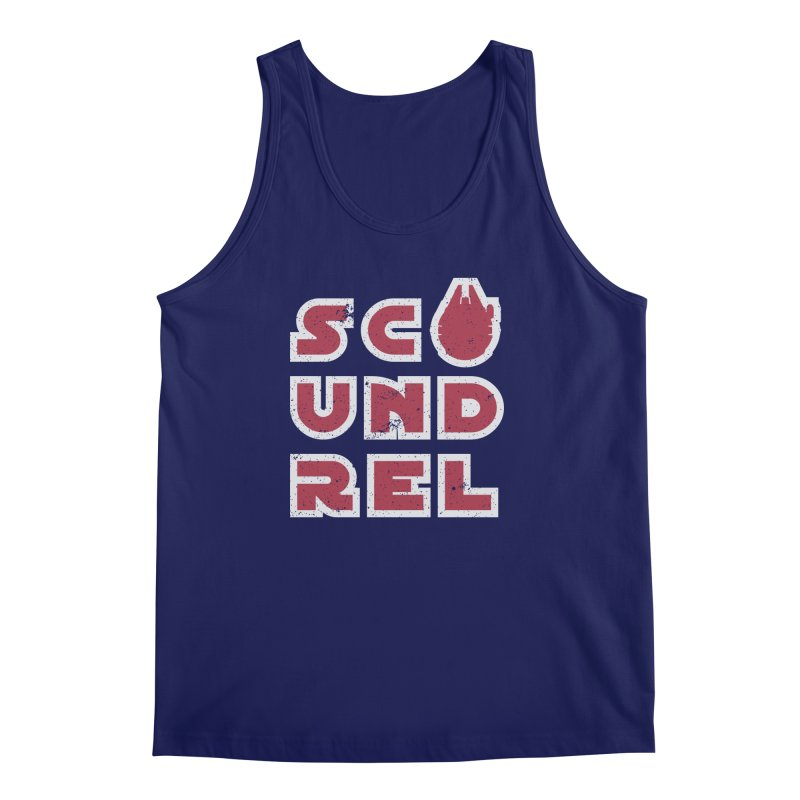 Scoundrel - Red Flavor Men's Regular Tank by Gamma Bomb - A Celebration of Imagination