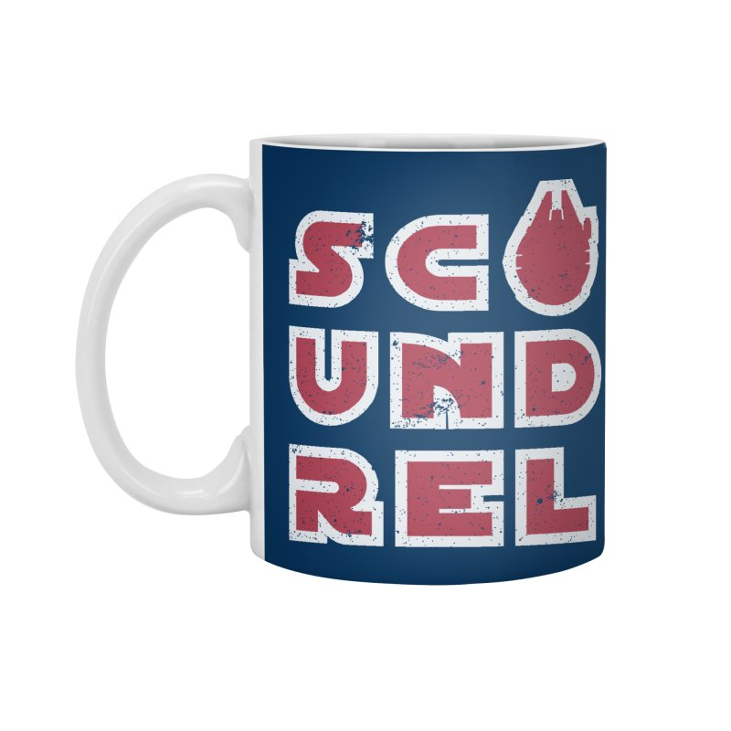 Scoundrel - Red Flavor Accessories Standard Mug by Gamma Bomb - Explosively Mutating Your Look