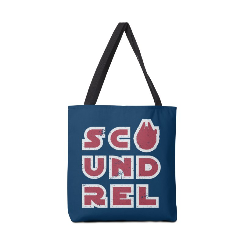 Scoundrel - Red Flavor Accessories Bag by Gamma Bomb - Explosively Mutating Your Look