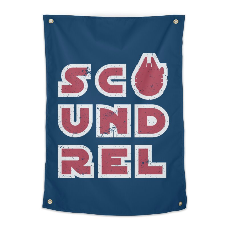 Scoundrel - Red Flavor Home Tapestry by Gamma Bomb - Explosively Mutating Your Look