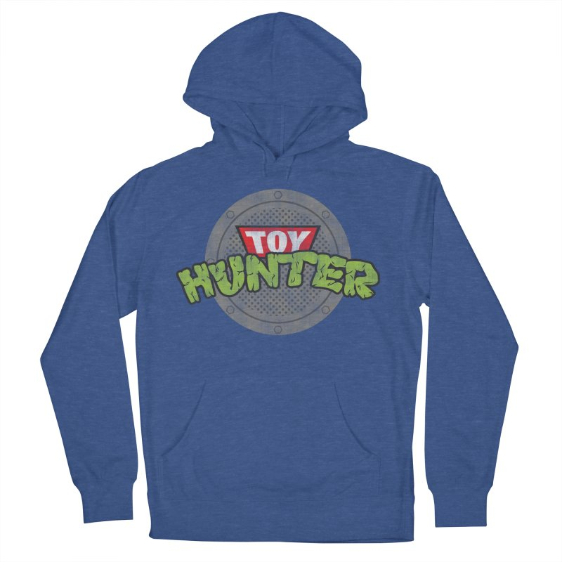 Toy Hunter - Turtle Flavor Women's French Terry Pullover Hoody by Gamma Bomb - Explosively Mutating Your Look