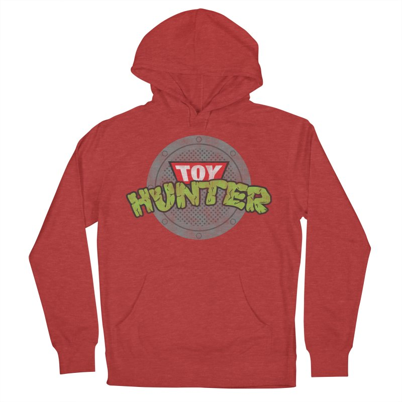 Toy Hunter - Turtle Flavor Men's French Terry Pullover Hoody by Gamma Bomb - Explosively Mutating Your Look