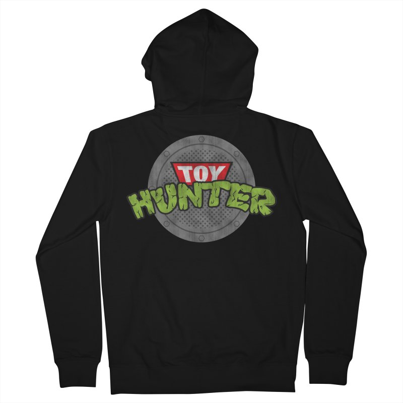Toy Hunter - Turtle Flavor Women's French Terry Zip-Up Hoody by Gamma Bomb - A Celebration of Imagination