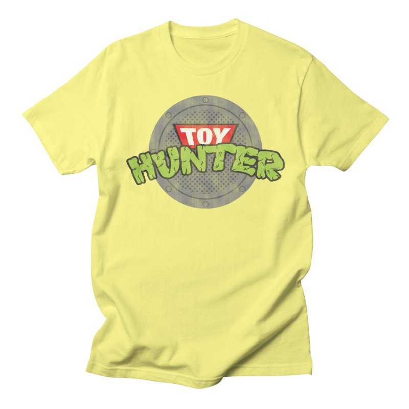 Toy Hunter - Turtle Flavor Women's Regular Unisex T-Shirt by Gamma Bomb - Explosively Mutating Your Look