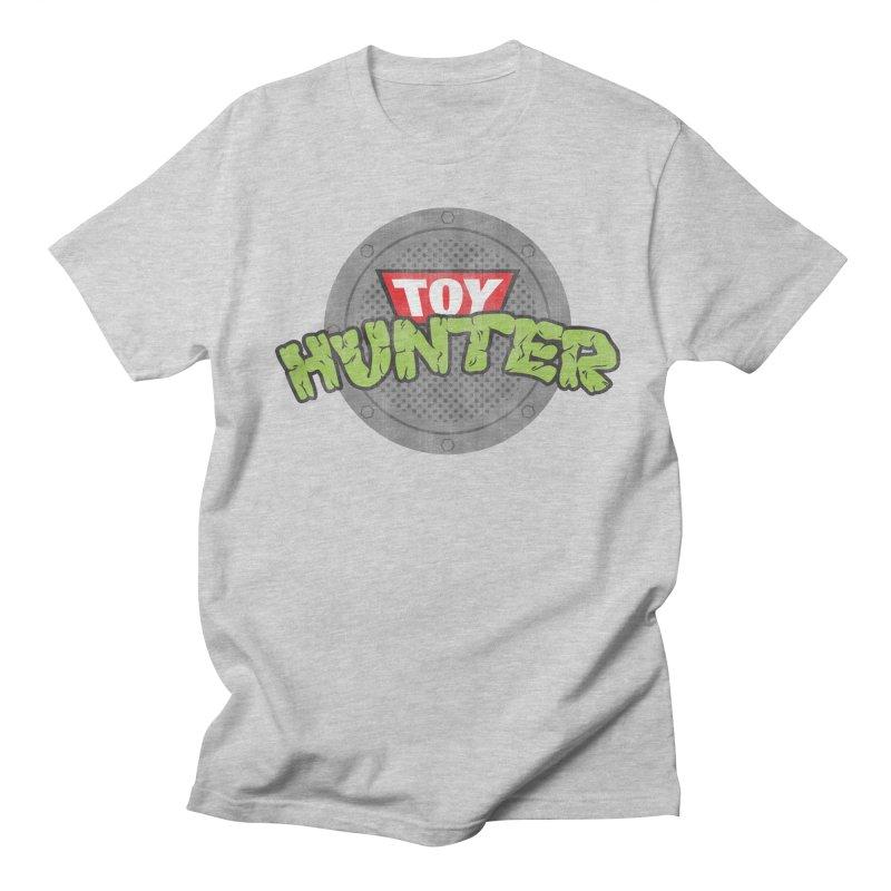 Toy Hunter - Turtle Flavor Men's Regular T-Shirt by Gamma Bomb - A Celebration of Imagination