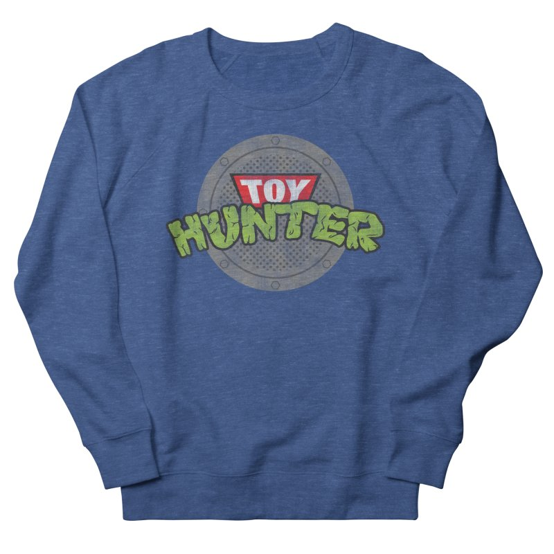 Toy Hunter - Turtle Flavor Men's French Terry Sweatshirt by Gamma Bomb - A Celebration of Imagination